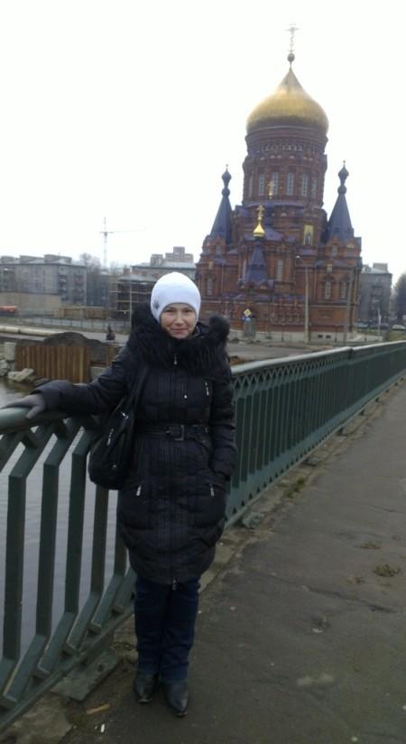 Таня Логинова в Петербурге