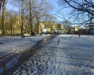 Парк Екатерингоф в конце марта