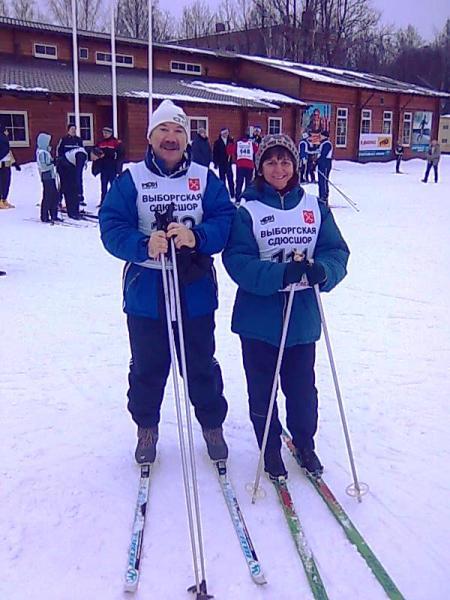 Спартакиада Комитета - Лыжные гонки 5 км