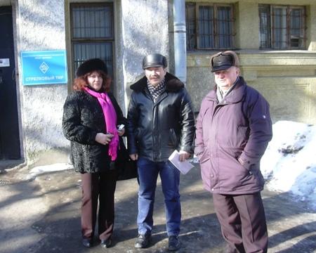 У тира на пр. Динамо, 44, Крестовский остров