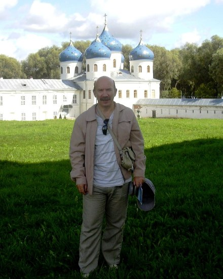 Великий Новгород. Юрьевский мужской монастырь.
