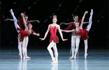 """Рубины"" балета ""Драгоценности"" Баланчина"
