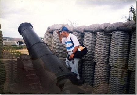 Артиллерийская батарея на Сапун-горе