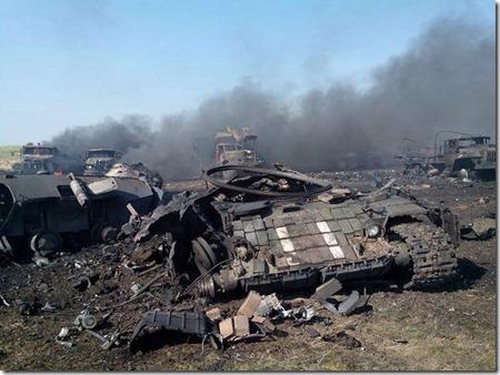 79-я попала под огонь Градов ополчения