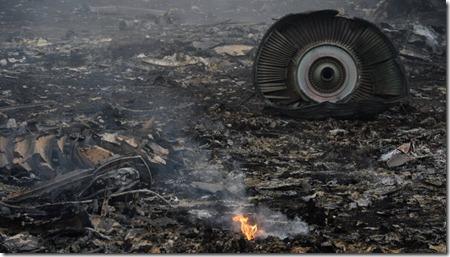 Крушение авиалайнера Малайзии на Украине