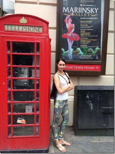 артистка балета Виктория Брилева