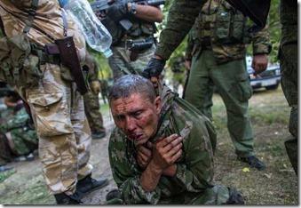Десантник Андрей Панасюк хочет к маме