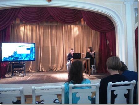 Творческая встреча с Владимиром Варнавой