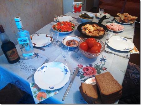 гостеприимный стол