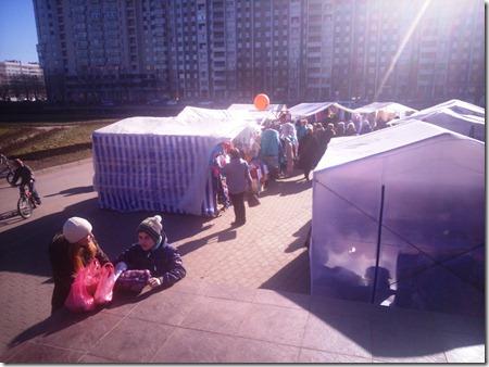 Ярмарка белорусских товаров к Нового Рубежа