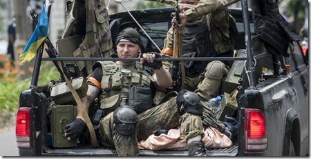 Украинские силовики захватили Мариуполь