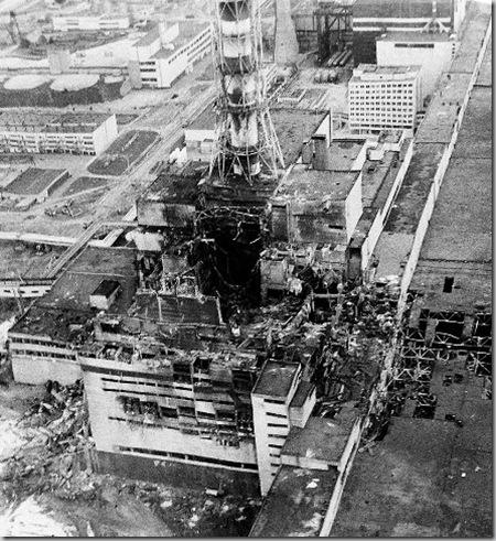 Авария на Чернобыльской АЭС в 1986 году