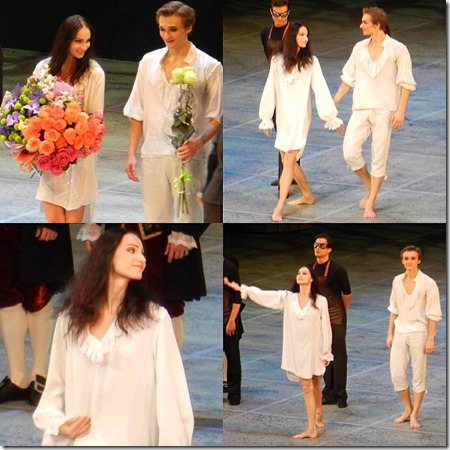 Дебют Оксаны Скорик в балете Парк